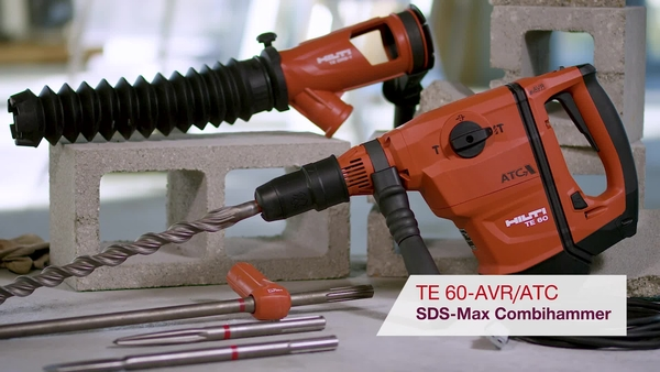 Product video of Hilti's SDS-max combihammer TE 60-ATC/AVR