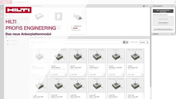 Lernen Sie das neue Ankerplattenmodul Advanced Baseplate kennen und bemessen Sie Ihren ersten vollständigen Fußpunkt. Dieses Anleitungsvideo bietet einen Überblick über die wichtigsten Funktionen.