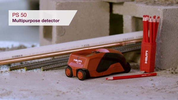 Product video of Hilti's multipurpose detector PS 50
