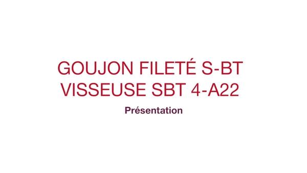 Vidéo promotionnelle de la perceuse sans fil pour le préperçage des trous précis pour les fixations S-BT