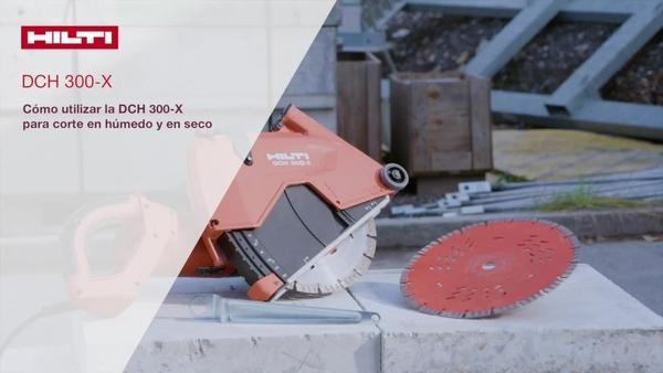 วิธีใช้ DCH 300-X ในการตัดเปียกและตัดแห้ง