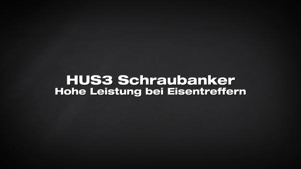 HUS3 Schraubanker. Leistung in Bewehrungsstäben.