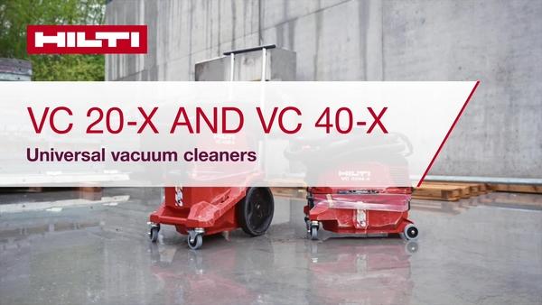 Scoprite la nostra nuova generazione di aspirapolvere, il VC 20-X, VC 40-X e VC 150-X.