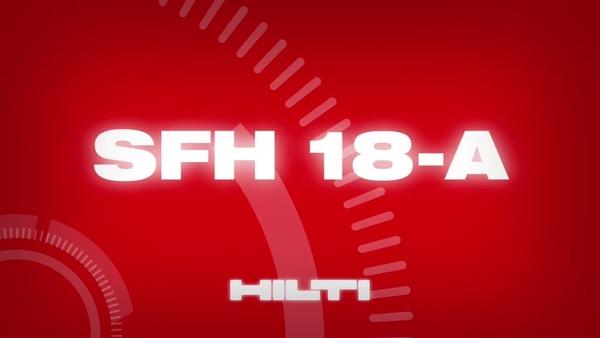 Κρουστικό δραπανοκατσάβιδο μπαταρίας Hilti SFH 18-A.