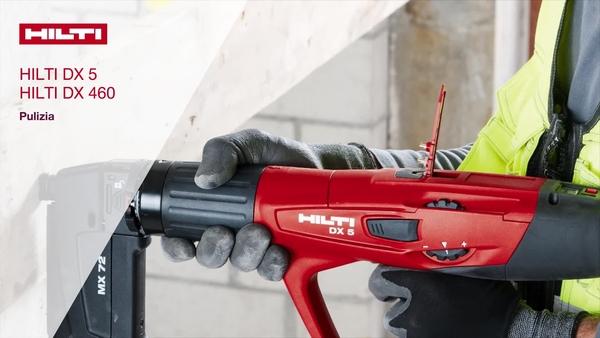 How-to (Come) pulire l'attrezzo DX 5 e DX 460