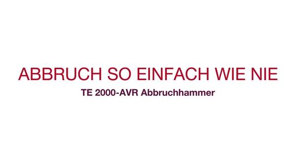 TE2000 Kundenstatements: Hören Sie, was Kunden über unsere neueste Innovation, den TE2000-AVR, denken.