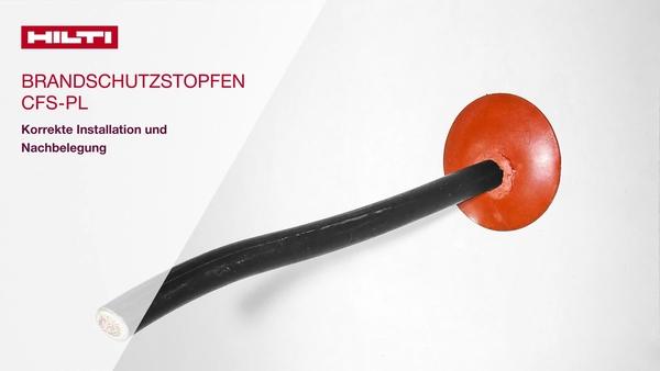 CFS-PL Brandschutzstein