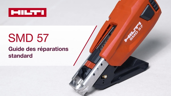 Tutoriel d'auto-réparation pour SMD 57 02.