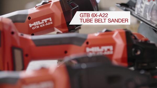 Producción de metal, CiC, video promocional de la lijadora de banda de tubo GTB-6X A22