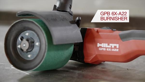 Metal fabrication CiC burnisher GPB 6X-A22 promo video