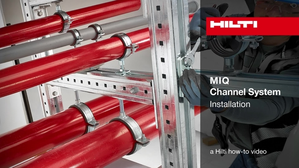 MIQ Channel System – Installation