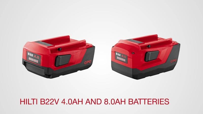Hilti  B22//4.0 Ah,Lithium ion Battery BRAND NEW .