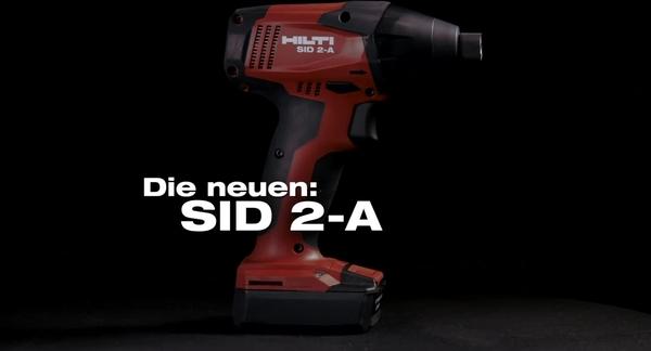 SF 2-A. I nuovi trapani avvitatori a batteria da 12 V.