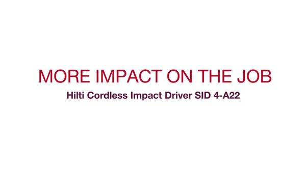 Video promocional del sistema SID 4-A22