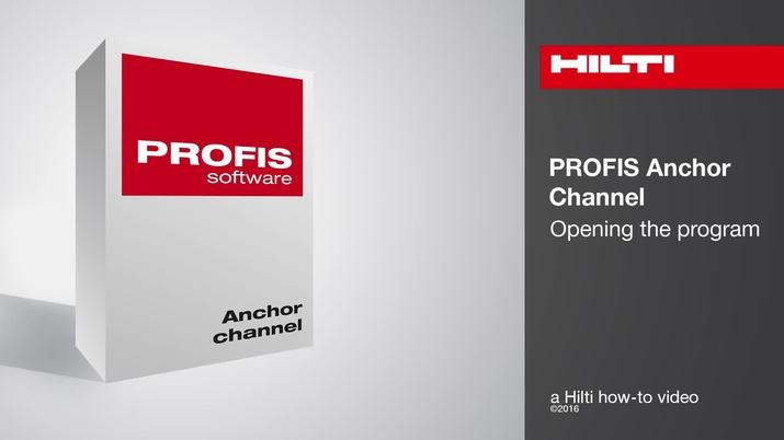 PROFIS Anchor Channel - Hilti USA