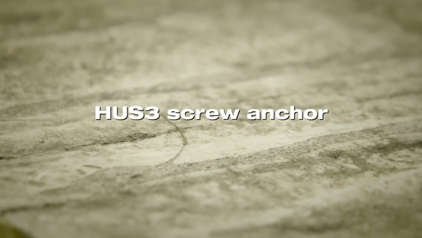 HUS3_screw anchor. Performance in old concrete.
