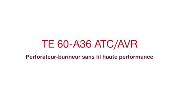 Découvrez le premier perforateur-burineur36V SDS-MAX au monde et consultez les retours de nos clients