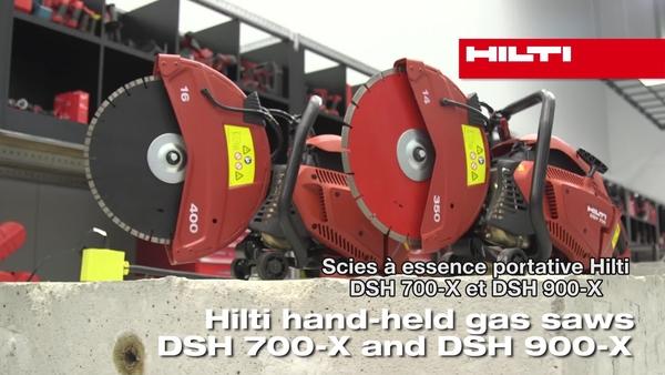 Scies à gaz DSH 700-X et DSH 900-X Hilti
