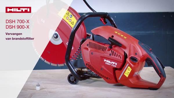 DSH 700-X, DSH 900-X - Wissel brandstoffilter.