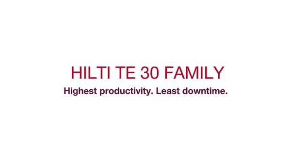 TE 30 family generation 2 and 3 - customer testimonials (ENGLISH)