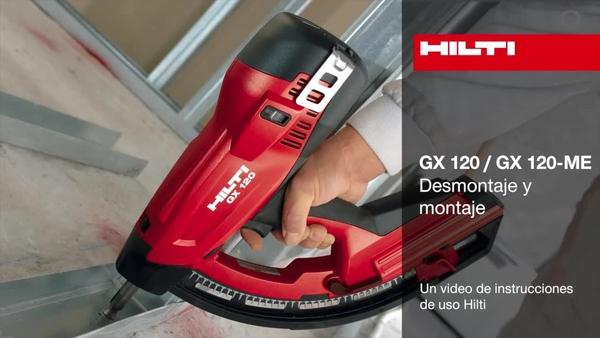 GX 120 - Montaje y desmontaje.