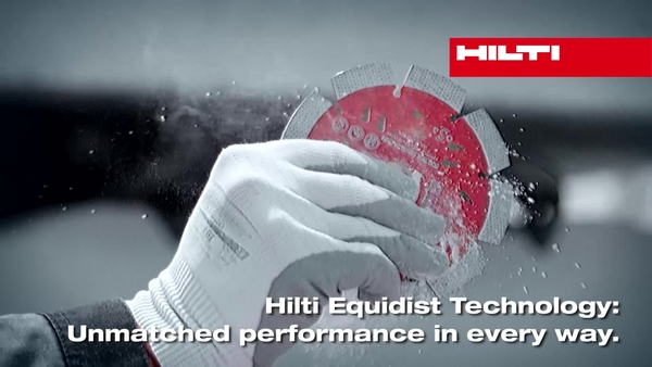 Hilti Equidist Diamond Blades and Core Bits (30 sec. teaser)