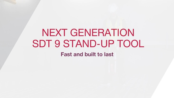 SDT 9 Decking stand-up handle is fast and built to last
