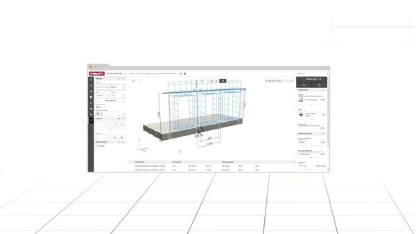 Leer hoe Hilti PROFIS Engineering Suite naadloos aansluit met structurele calculatiesoftware van derden zoals Dlubal. Een tab favorieten en een knop ongedaan maken maken snelle ankercalculaties mogelijk en maximaliseren uw productiviteit.