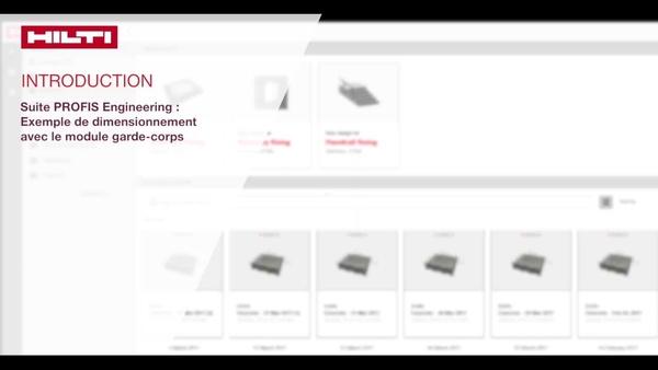 Leer over de stappen die betrokken zijn bij het ontwerp van leuningbevestigingen in beton. U selecteert waar de leuning wordt vastgemaakt en we tonen u hoe Hilti PROFIS Engineering de belastingen automatisch op uw regio toepast.