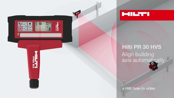 PR30-HVS - Align axis automatically.