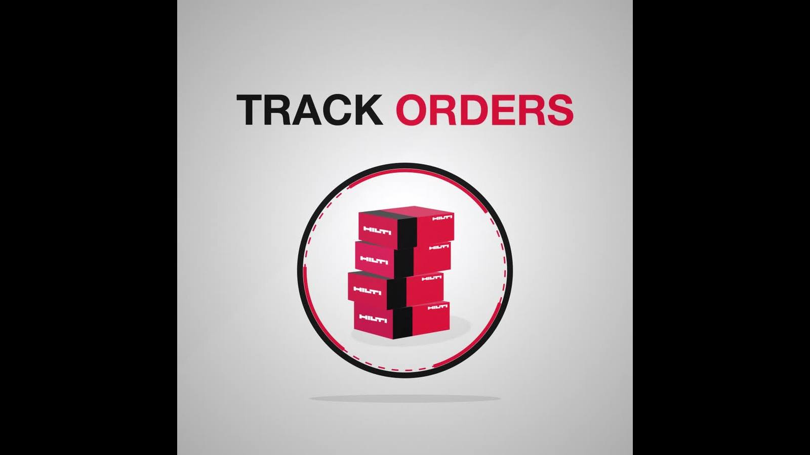 Track your Hilti order