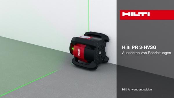PR 3-HVSG – Ausrichten von Rohrleitungen.