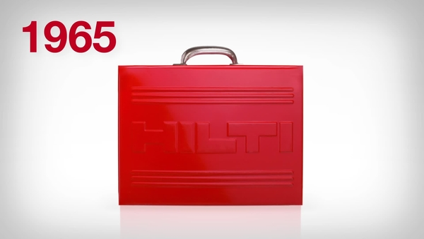 Video animation featuring the new Hilti toolbox and explaining the new, value-adding features