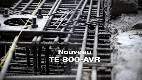 Burineur TE800. Conçu pour démolir. FRA