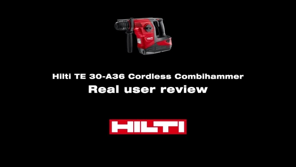 TE 30-A36 Κρουστικό δράπανο combi μπαταρίας Hilti - Κάντε μια δοκιμή.