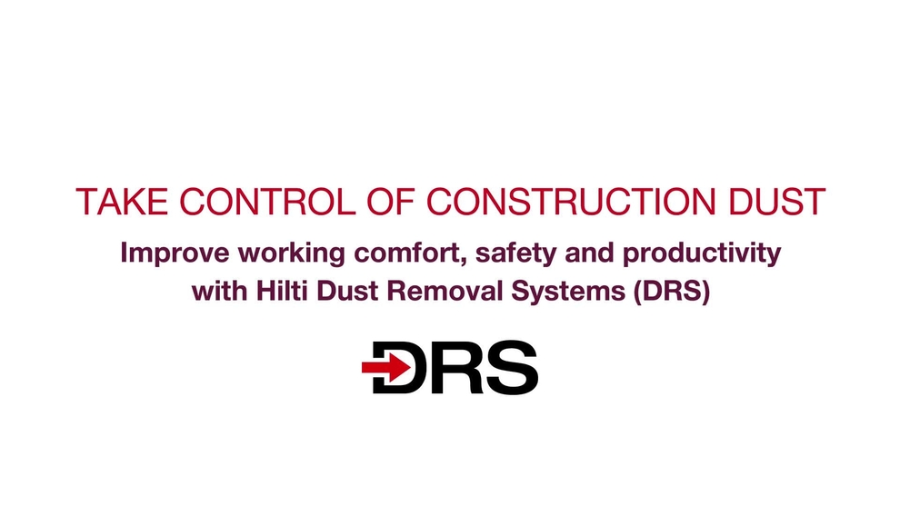 dust reduction dust removal systems drs