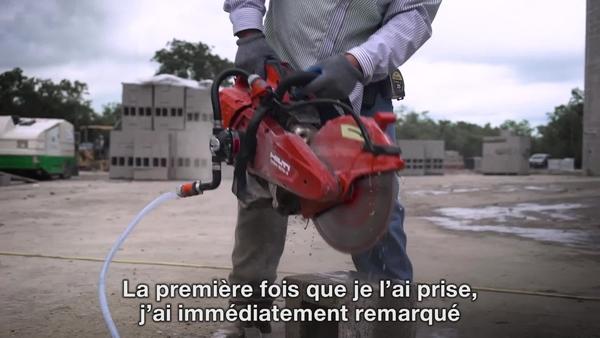 Vidéo de témoignage client avec commentaires sur la pompe hydraulique DSH-P et DSH 600-X.