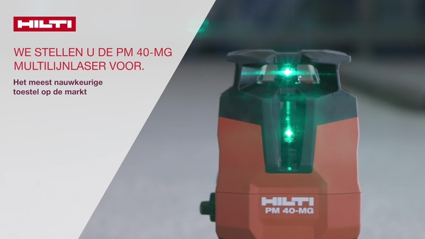 Vidéo promotionnelle du PM 40-MG pour le Prix de l'innovation Martin Hilti en 2018
