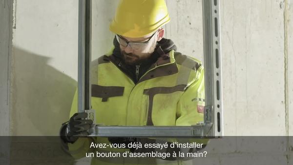 04 Vidéo promotionnelle du bouton-poussoir MQN-C dans le cadre du lancement de Next Level Installation.