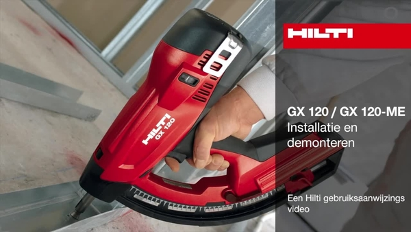 GX 120 - Montage en demontage.