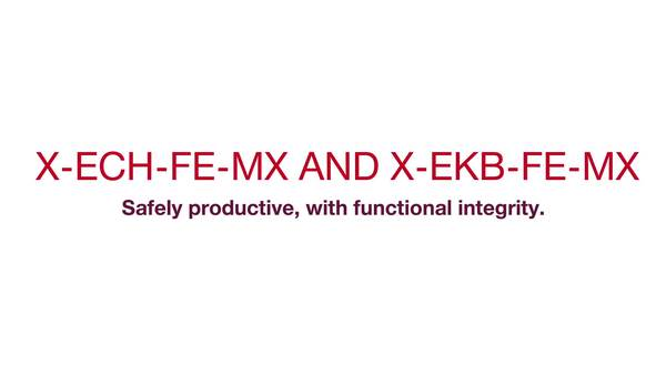X-ECH-FE-MX and X-EKB-FE-MX – Safely productive with functional integrity (With subtitles)  (CIS, cable integrated system, cable integrity system, BX 3)