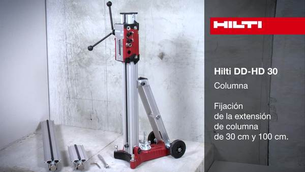 DD-HD 30 - Colocación de las prolongaciones de carril.