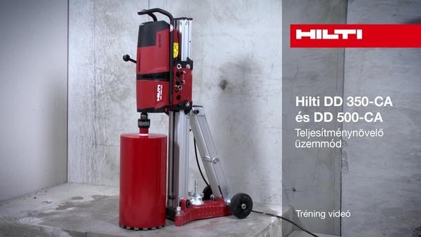 DD 350/500-CA - Iron boost üzemmód