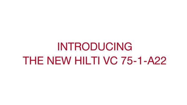 Conozca el sistema VC 75-A22, la nueva aspiradora portátil a batería de 22V