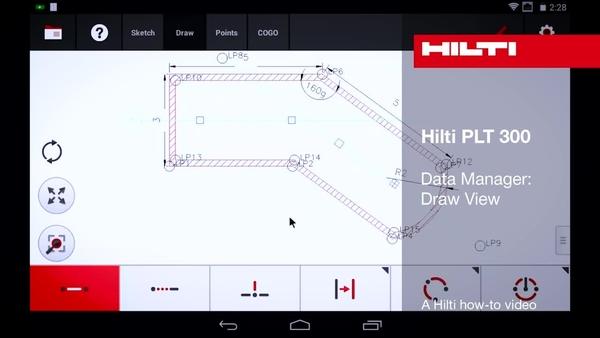 PLT 300 - データマネージャー:描画ビュー