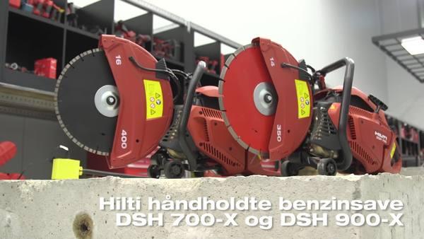 DSH 700-X og DSH 900-X gassave.