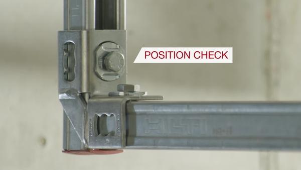 06 Salgsvideo for MQN-C-trykknap med spionhul som en del af næste niveau Installation start.