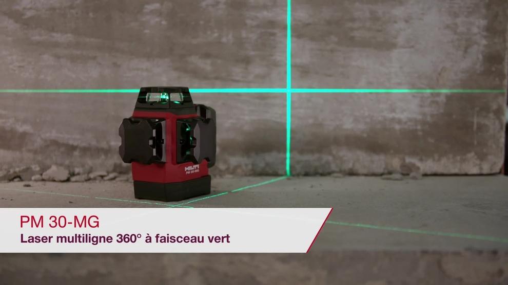 Découvrez la précision de nos lasers de chantier indispensables pour vos applications intérieures