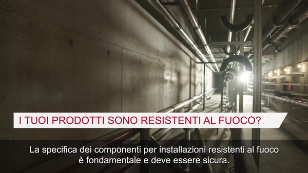 Video promozionale sul pulsante MQN-B per l'applicazione antincendio con selettore di supporto MEP