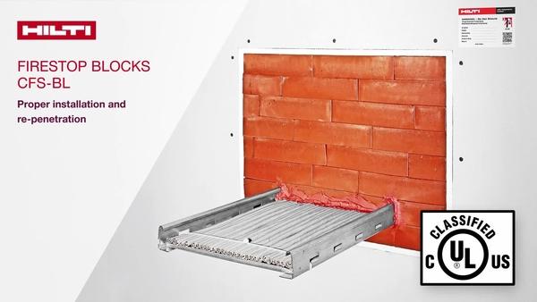 Firestop Block CFS-BL